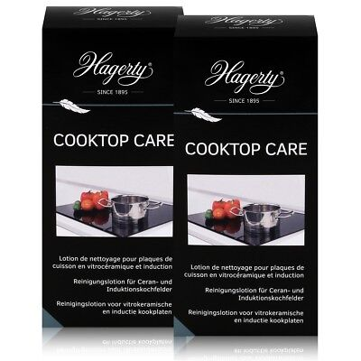 Hagerty Cooktop Care - Reinigungslotion Induktionskochfelder 250ml (2er Pack)