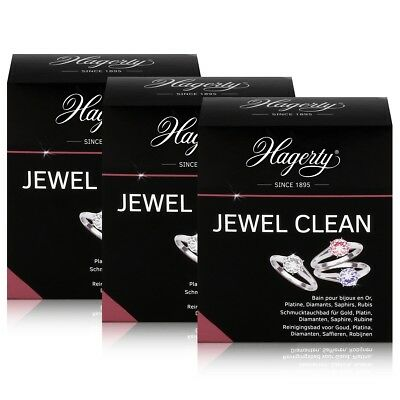 Hagerty Jewel Clean - Schmucktauchbad für Gold, Diamanten 170ml (3er Pack)