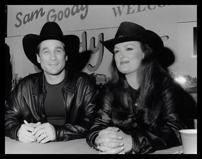 1993 CLINT BLACK & WYNONNA JUDD Vintage Original Photo COUNTRY SINGER gp