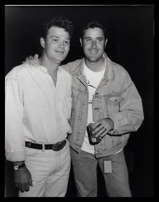 1993 DOUG STONE & VINCE GILL Country Music Artist Vintage Original Photo gp