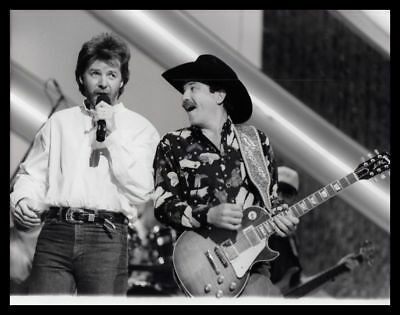 1993 BROOKS AND DUNN Country Music Artist Vintage Original Photo gp