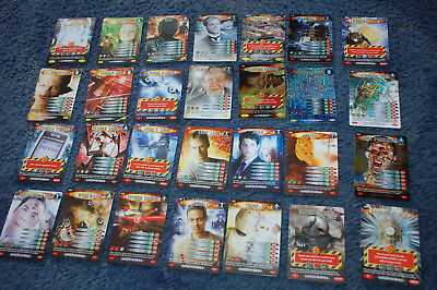 28 DOCTOR WHO BATTLES IN TIME CARDS 2006 - job lot bundle Dr Who
