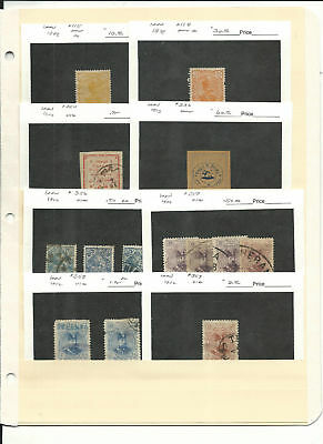 Middle East Collection on 2 Stock Pages, Lot of Dealers Cards (D)