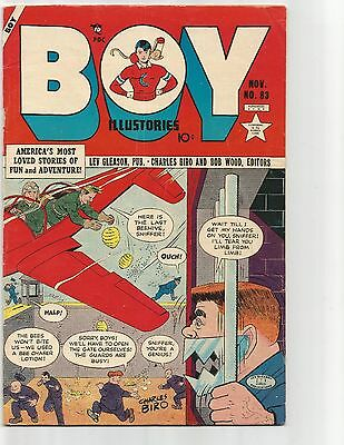 Boy Comics #83  Nov.1952  FN- 5.5  Iron Jaw cover