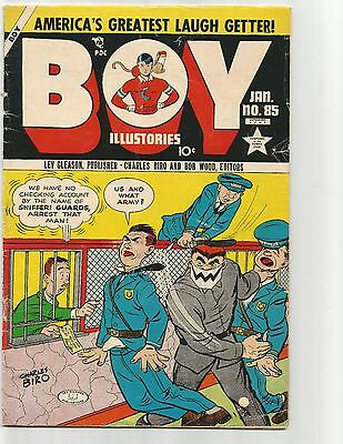 Boy Comics #85  Jan.1953  GD-1.8 Iron Jaw cover
