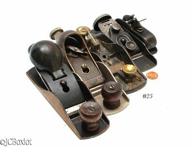 mixed lot SARGENT STANLEY BLOCK PLANE LOT parts use bull nose ~ jcboxlot