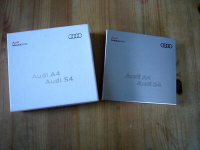 Audi A4 & S4 press kit in aluminium case in presentation box, 2011, excellent