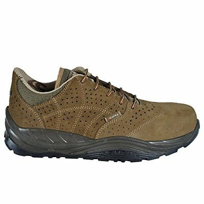 """Cofra 55110-000.W44 Size 44 S1 P SRC """"Lymph"""" Safety Shoes - Brown"""