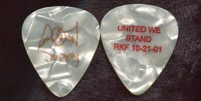 AEROSMITH 2001 Push Play Tour Guitar Pick!!! JOE PERRY custom concert stage #5