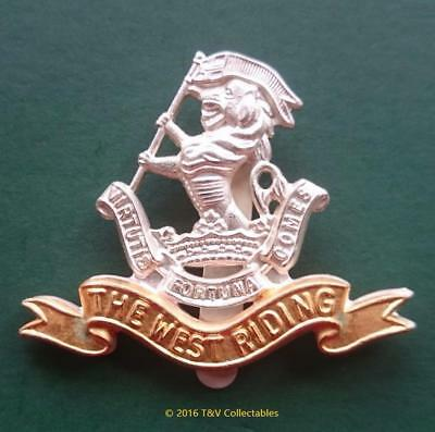 The Duke Of Wellington's Regiment (West Riding) Officer's Cap Badge