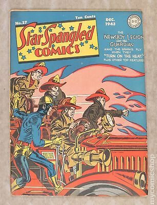 Star Spangled Comics #27 1943 GD+ 2.5