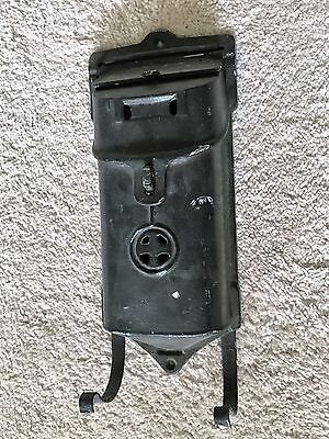 Antique Griswold Cast Iron Wall Mounted Mail Box Signed & Numbered 106 & 105