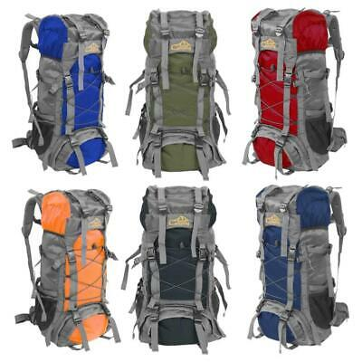 60L Unisex Outdoor Camping Backpack Travel Bag Climbing Rucksack Hiking Packs