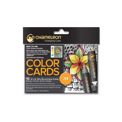Chameleon Color Cards - Zen - With Shading & Colouring Guides