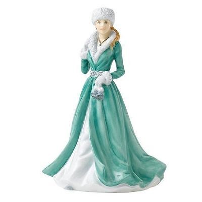 Royal Doulton Songs of Christmas SILVER BELLS Ladies HN 5607 Figure NEW in box