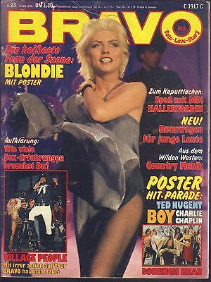 BRAVO Nr.23 vom 31.5.1979 Village People, Blondie, Dschingis Khan, Sweet, Boy...