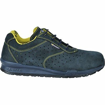 """Cofra 78670-000.W45 Size 45 S1 P SRC """"Guerin"""" Safety Shoes - Blue"""