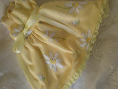 BABY ALIVE  DOLL CLOTHES NIGHT GOWN   yellow  also fits bitty baby