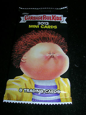 RARE 2013 Garbage Pail Kids Mini Cards Trading Card Pack from Box!