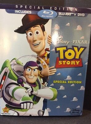 Toy Story Special Edition w/Slipcover Blu-ray/DVD Like New