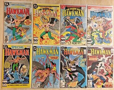 Hawkman (1987) 1-17, 1986 Special, Shadow War 1-4 | Lot Of 22 | Vf- Or Better