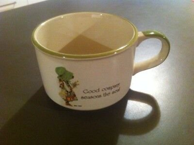Vintage Holly Hobbie Country Living Soup Mug Cup Good Company Seasons The Meal