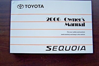 new toyota owner s manual cover case 18 95 picclick rh picclick com 2016 sequoia owners manual 2011 toyota sequoia owners manual