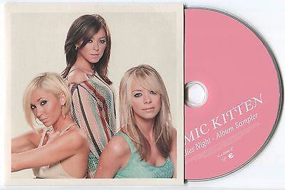 "Atomic Kitten ~ Ladies Night (Sampler) ~ 2003 Uk 7-Track ""promo"" Cd Mini Album"