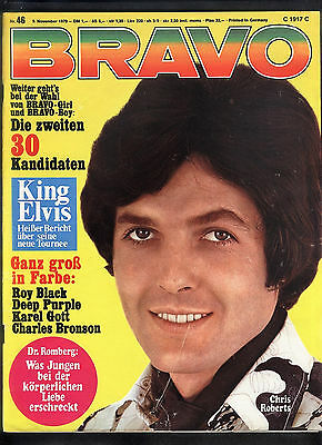 BRAVO Nr.46 vom 9.11.1970 Roy Black, Chris Roberts, Elvis Presley, Deep Purple..