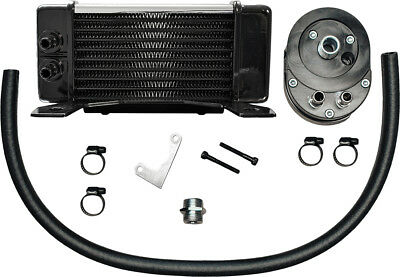 Jagg Lowmount 10-Row Oil Cooler System (Chrome) 750-2380