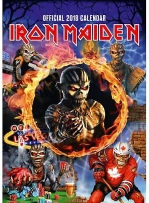 IRON MAIDEN  2018 Calendar , Official , new, and sealed