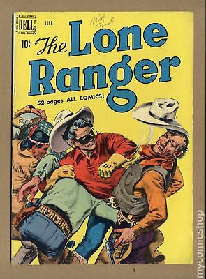 Lone Ranger (Dell) #24 1950 GD+ 2.5 Low Grade