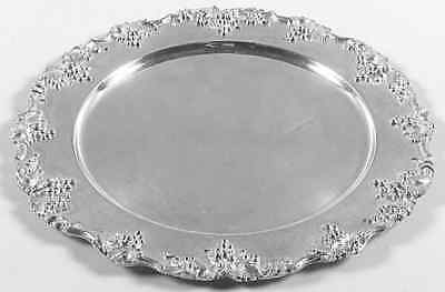 International VINTAGE PLAIN SILVERPLATE Dinner Plate 1817016