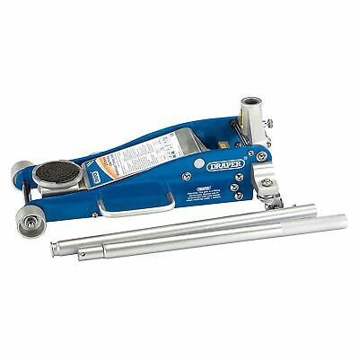 Draper 2.5 Tonne Quick Lift Aluminium / Steel Trolley Car Lifting Jack - 31479