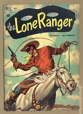 Lone Ranger (Dell) #35 1951 GD/VG 3.0