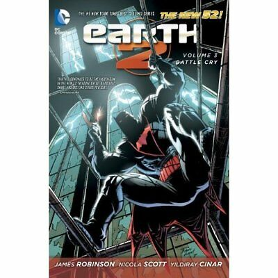 Earth 2 Volume 3: Battle Cry TP (The New 52) - Paperback NEW Nicola Scott (A 201