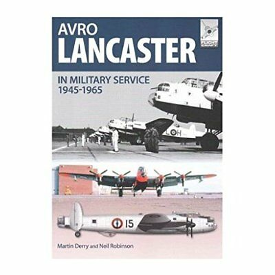 Avro Lancaster 1945-1964: In British, Canadian and Fren - Paperback NEW Neil Rob