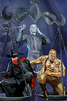 THE SHADOW DOC SAVAGE JUSTICE INC CONAN SOLOMON KANE - lot of 9 PULP comic books