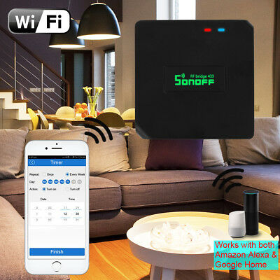 Sonoff RF Bridge 433MHz Wifi Remote Smart Home Automation Switch Timer LD1223