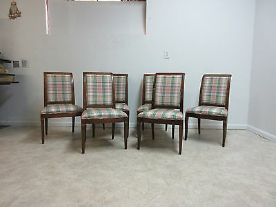 6 Henredon Country French Dining Room Side Chairs Set