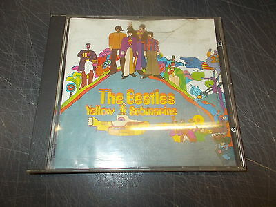 Cd The Beatles:yellow Submarine.emi Records.1969 Prima Stampa In Cd Ottimale!!