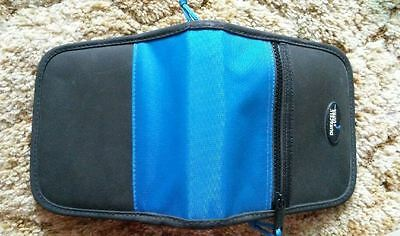 24 Ct Duracell Ultra Cd Wallet – Turquoise & Black W/ Zipper