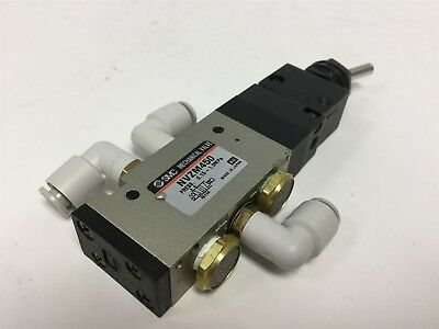 "SMC NVZM450 Pneumatic Valve, 2 Position 5 Way, Ports 1/8"" NPTF, 0.15-1.0 MPa"