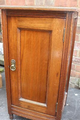 Antique Edwardian Mahogany Bedside / Pot Cupboard St.albans