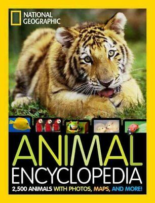 National Geographic Animal Encyclopedia 2,500 Animals with Phot... 9781426310225