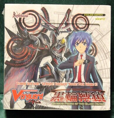 Cardfight Vanguard Binding Force Of The Black Rings Booster Box X1 Sealed New