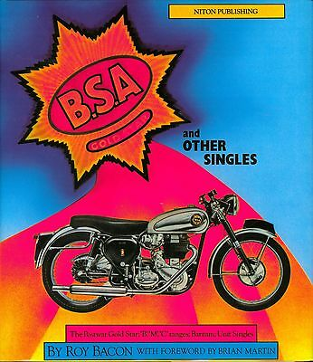 BSA Gold Star and Other Singles New Book Roy Bacon DBD34 B31 B33