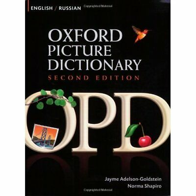 Oxford Picture Dictionary, Second Edition: English-Russ - Paperback NEW Adelson-