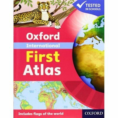 Oxford International First Atlas - Paperback NEW Wiegand, Dr Pat 2011-02-03