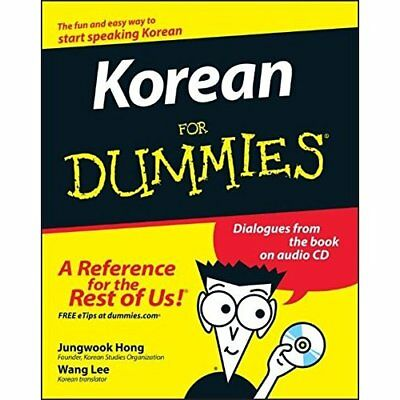 Korean for Dummies (For Dummies) - Paperback NEW Hong, Jungwook 2008-08-01